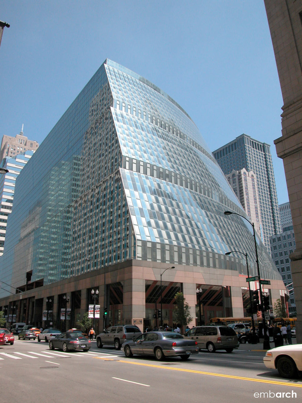 James R. Thompson Center - exterior view