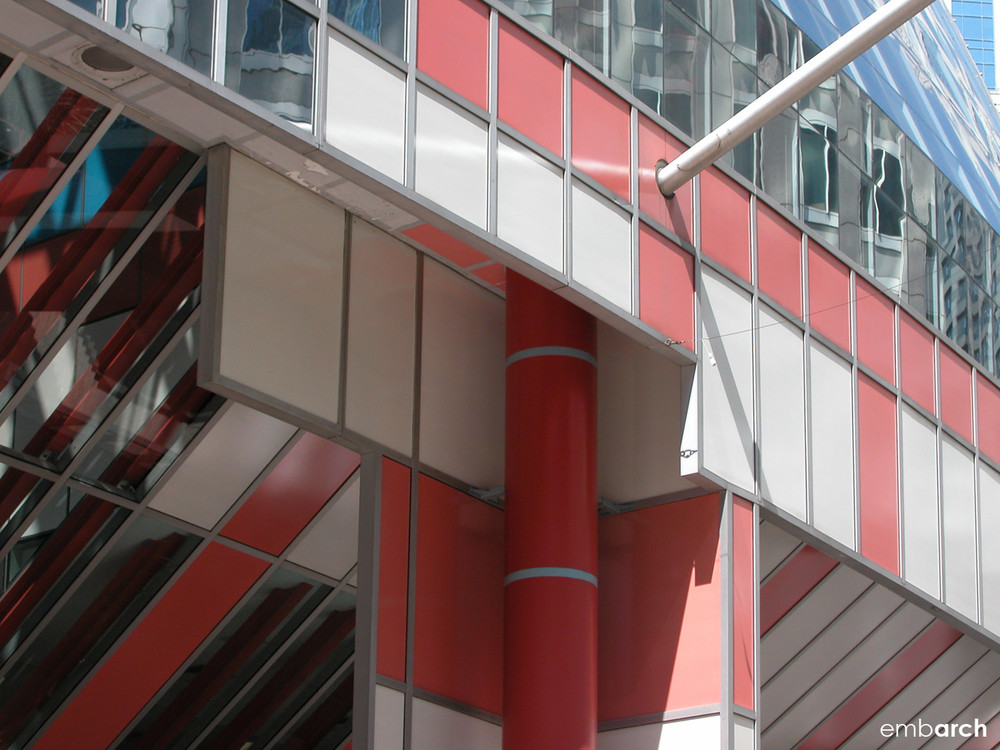 James R. Thompson Center - exterior detail