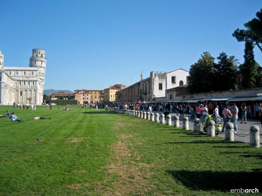 Piazza del Duomo, Pisa Italy - exterior view