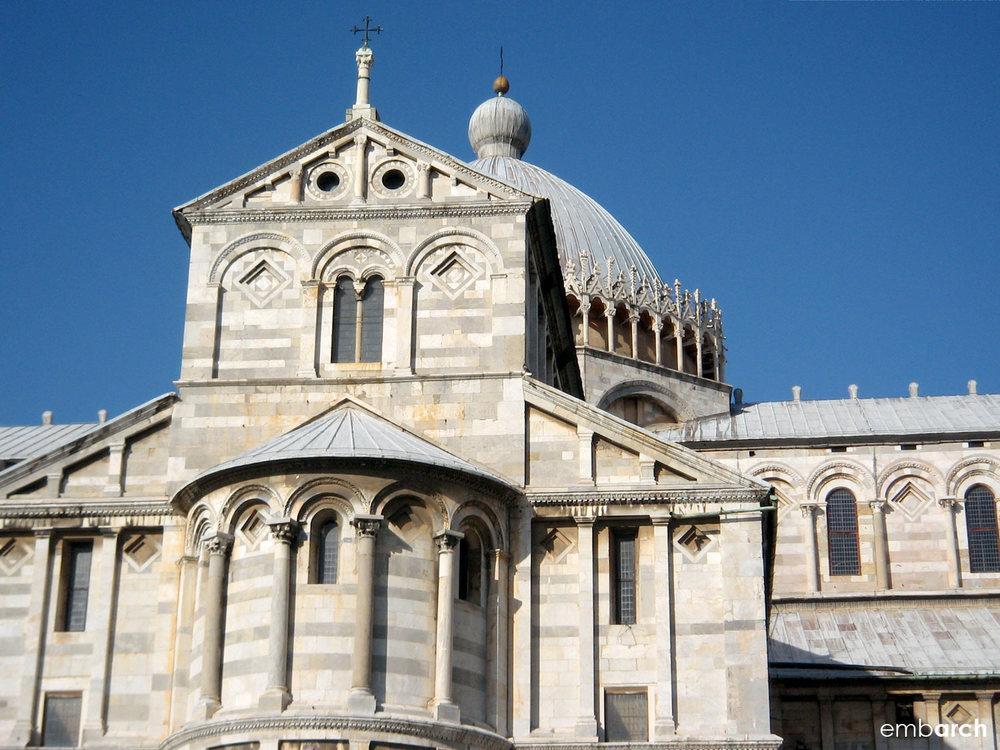 Piazza del Duomo, Pisa Italy - cathedral exterior