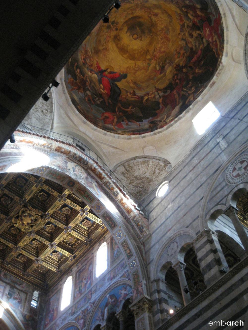 Piazza del Duomo, Pisa Italy - cathedral interior