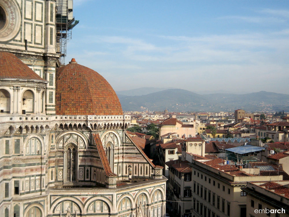 Florence Cathedral (Duomo) - view from Dome