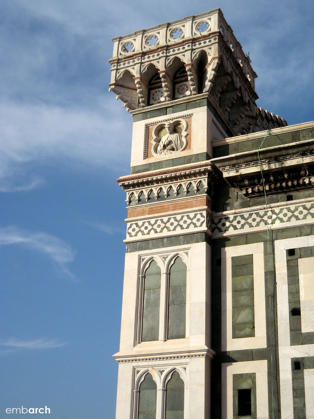 Florence Cathedral (Duomo) - exterior detail