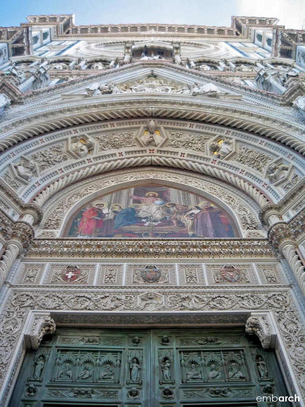Florence Cathedral (Duomo) - exterior facade detail
