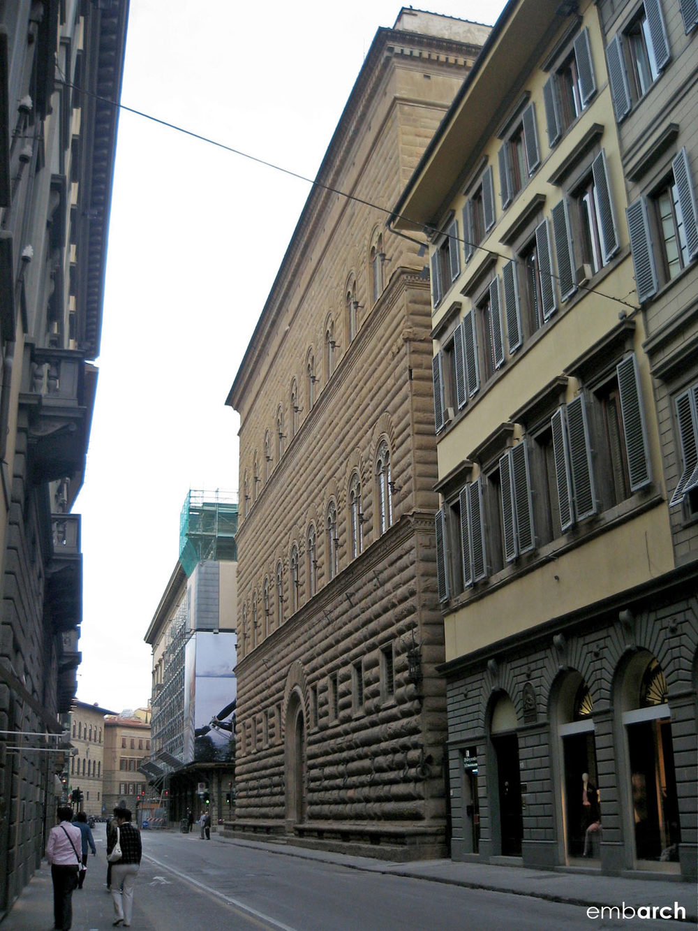 Palazzo Strozzi - view of exterior