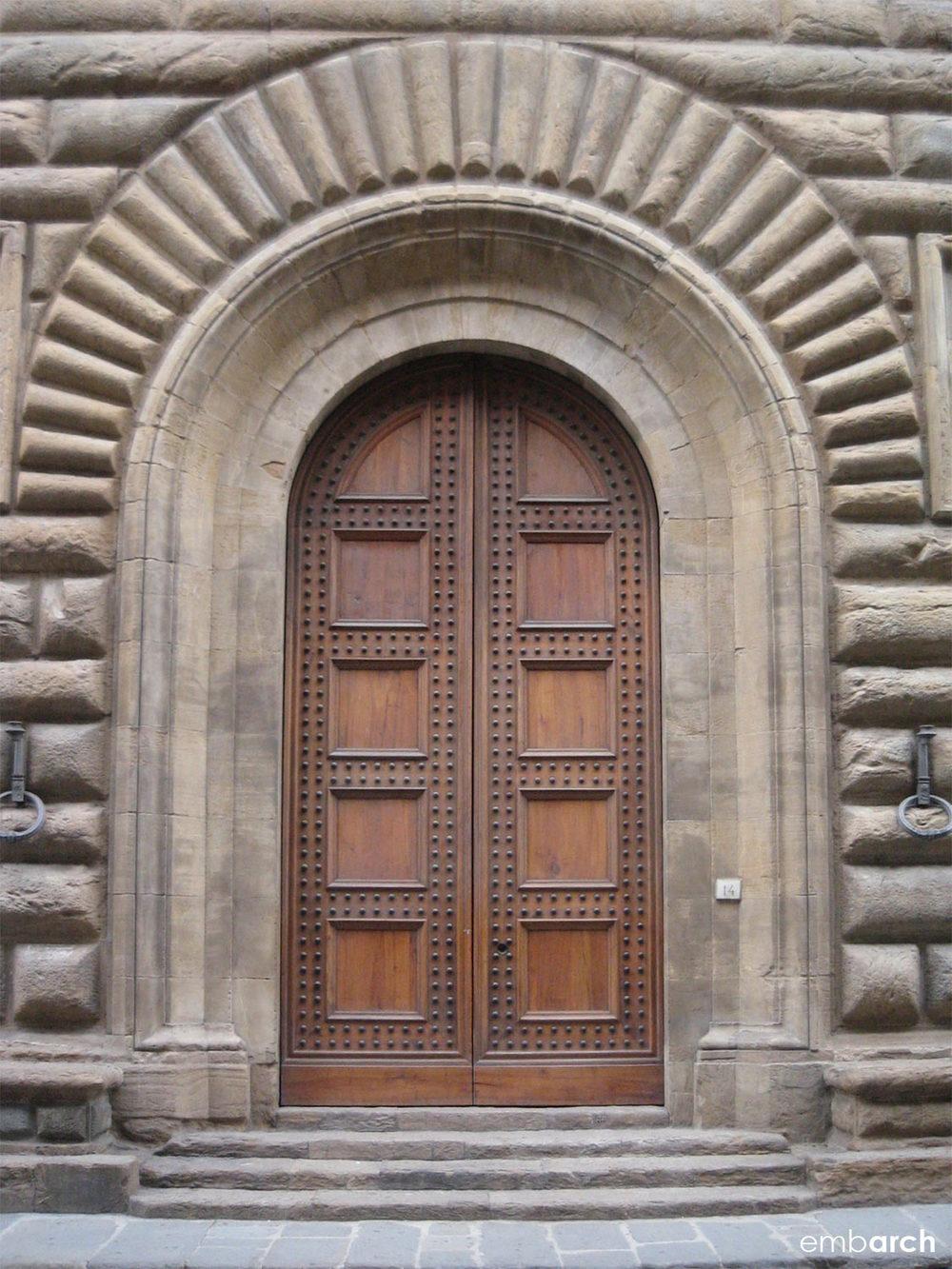 Palazzo Strozzi - exterior detail