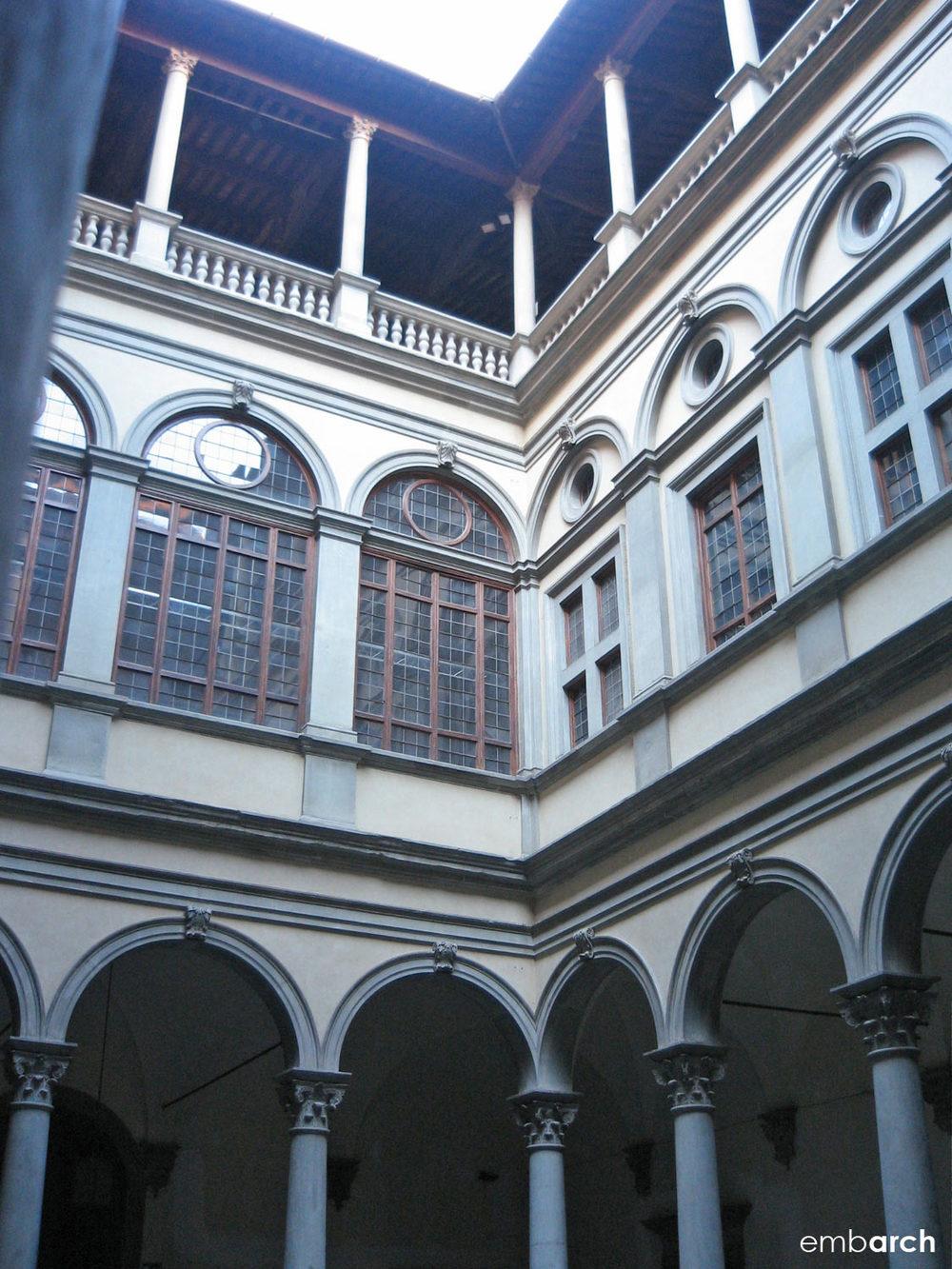 Palazzo Strozzi - interior courtyard
