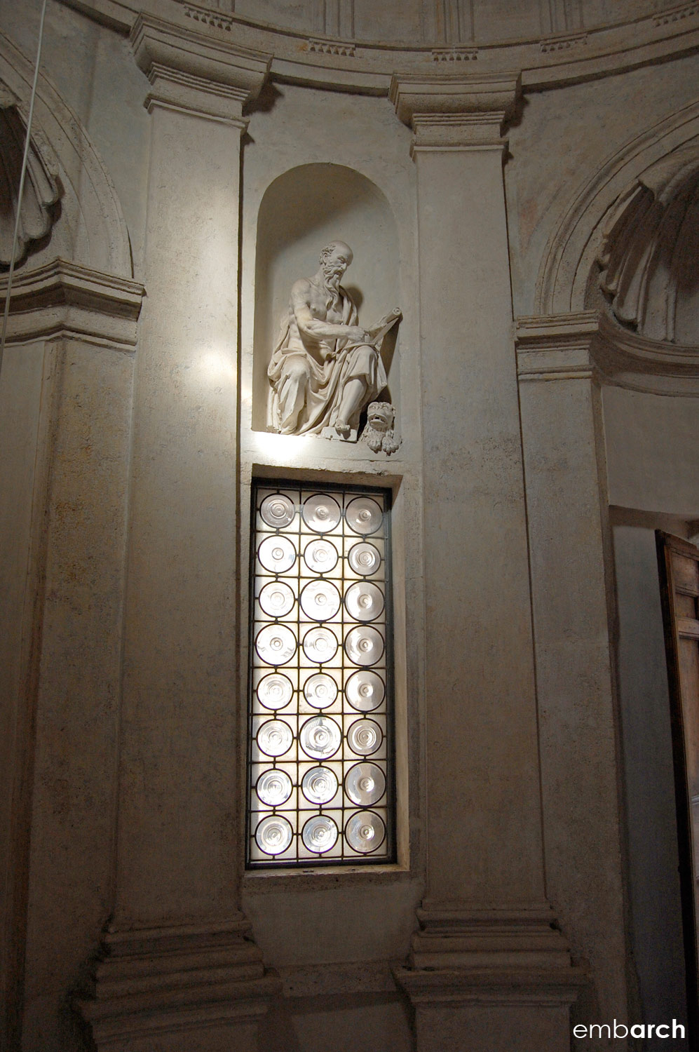 Tempietto - interior detail