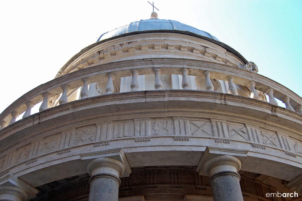 Tempietto - dome