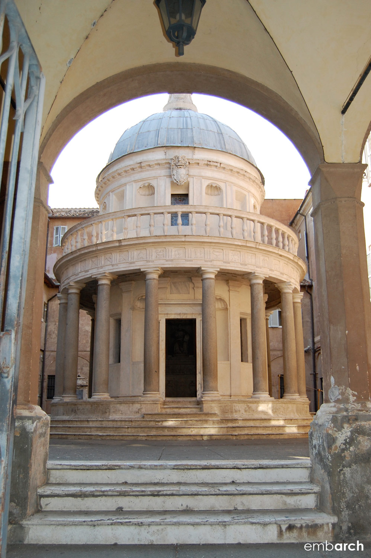 Tempietto - exterior view