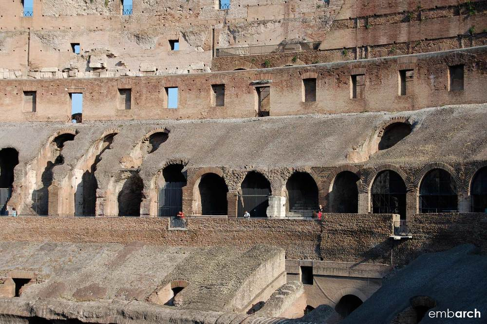 Colosseum - specatator seating detail