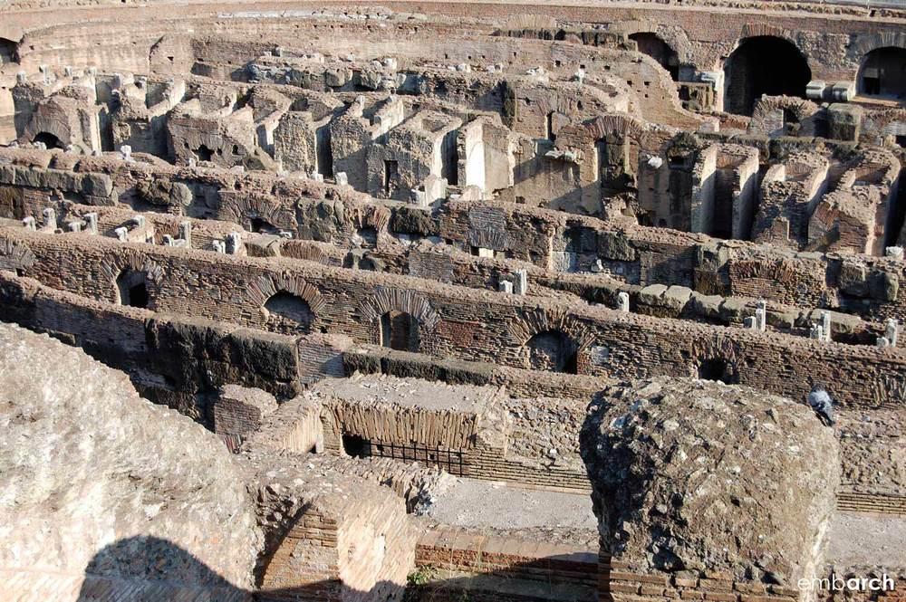 Colosseum - arena detail