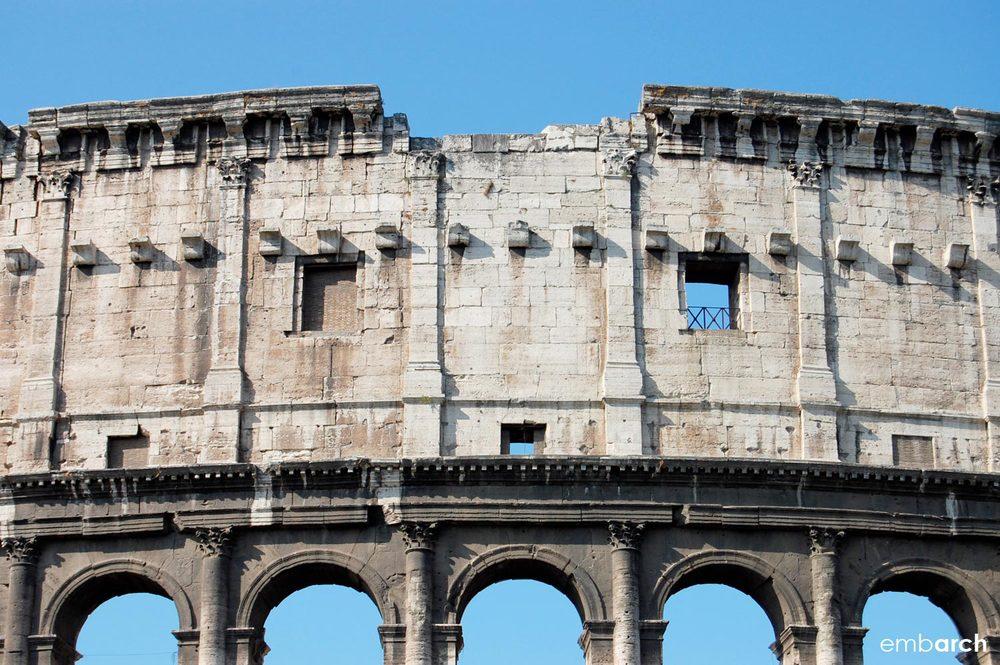 Colosseum - exterior detail
