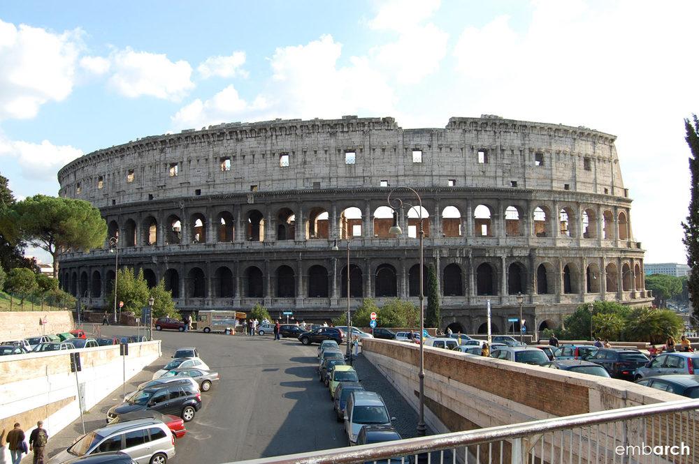 Colosseum - exterior view