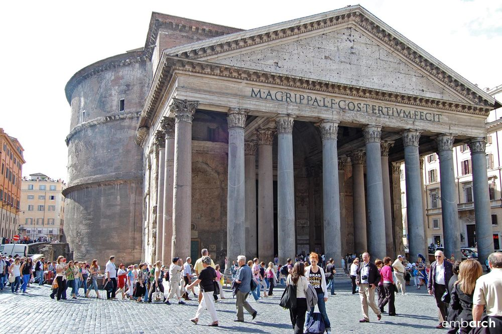 Pantheon - exterior view