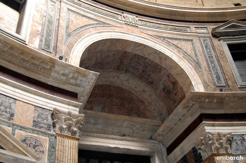Pantheon - interior detail