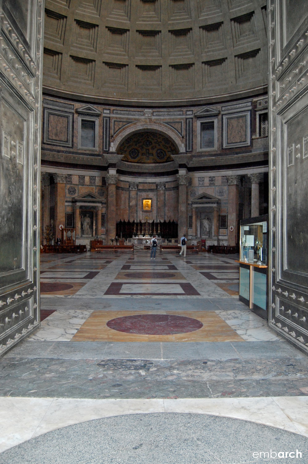 Pantheon - view of interior