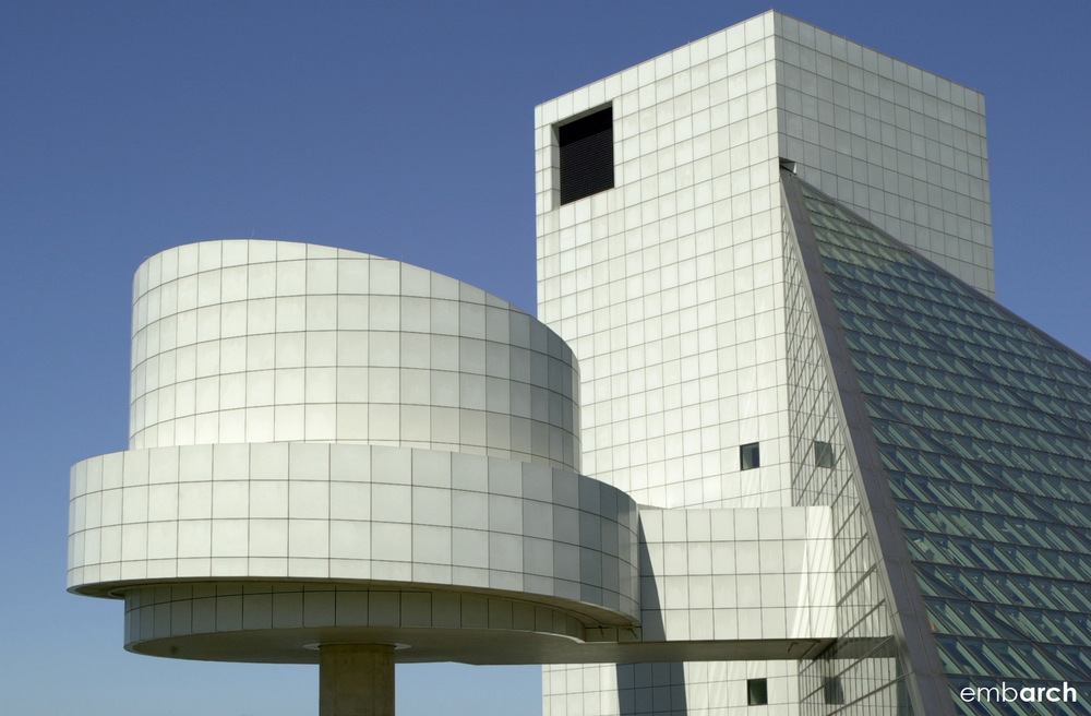 Rock and Roll Hall of Fame - exterior