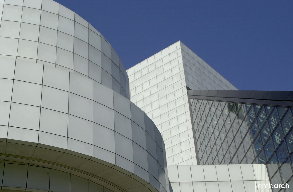 Rock and Roll Hall of Fame - exterior detail