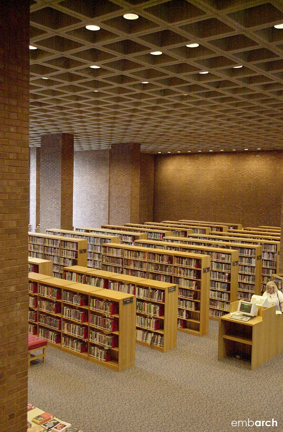Cleo Rodgers Memorial Library - interior
