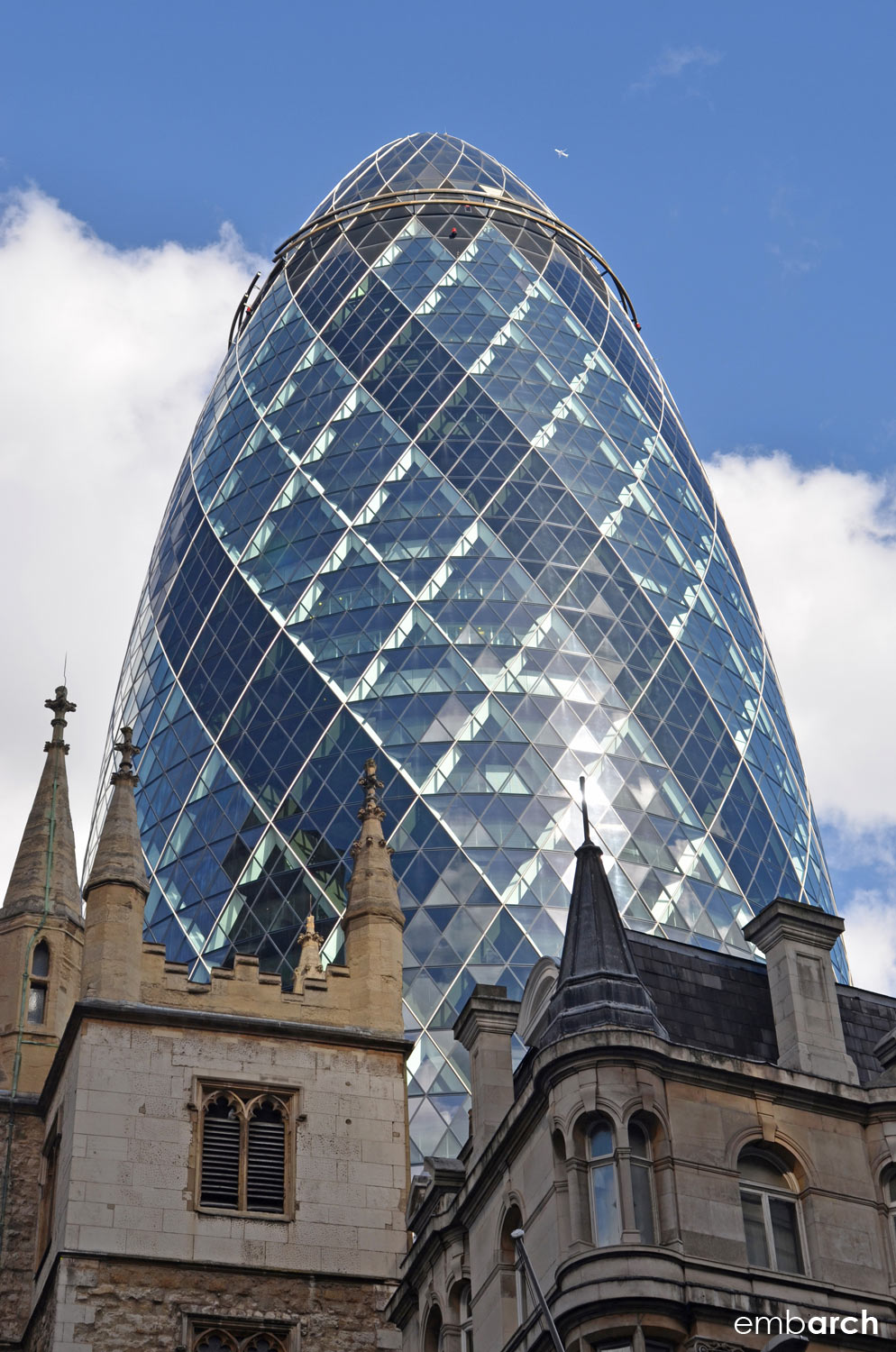 30 St. Mary's Axe - exterior view