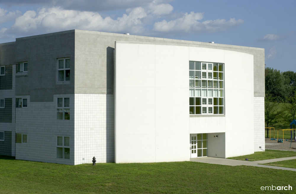 Clifty Creek Elementary School - exterior