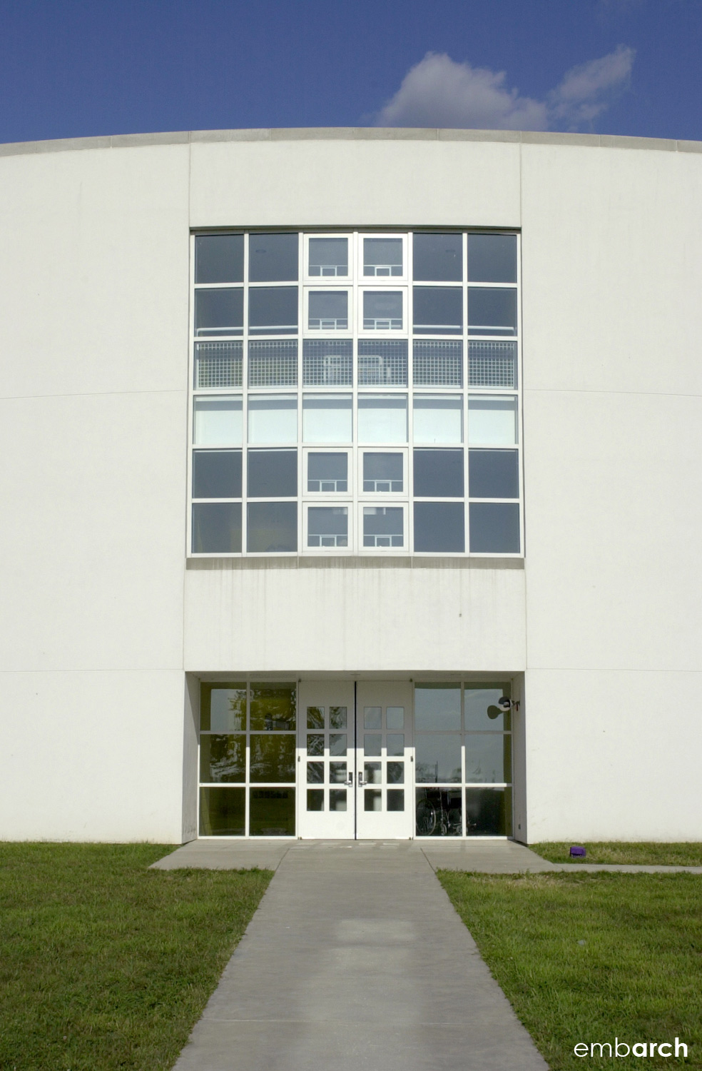 Clifty Creek Elementary School - exterior detail