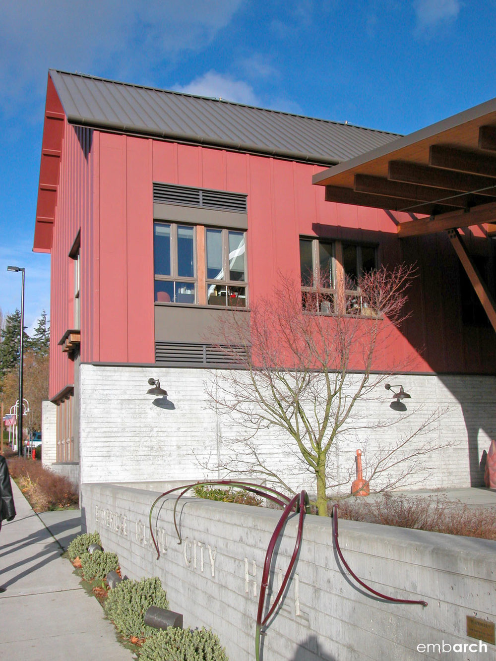 Bainbridge Island City Hall - exterior