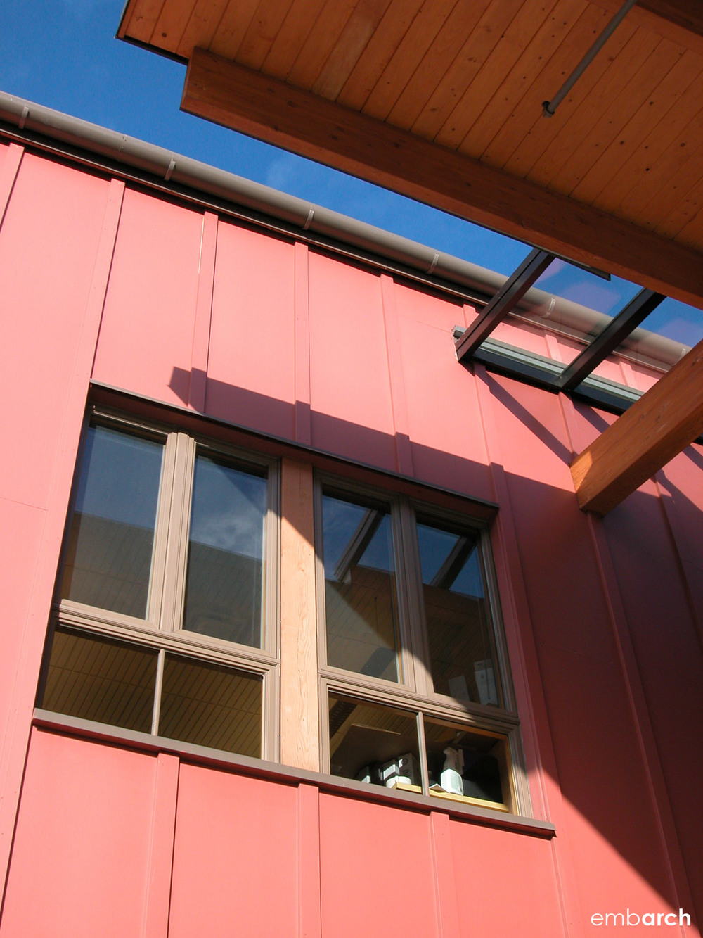 Bainbridge Island City Hall - exterior detail