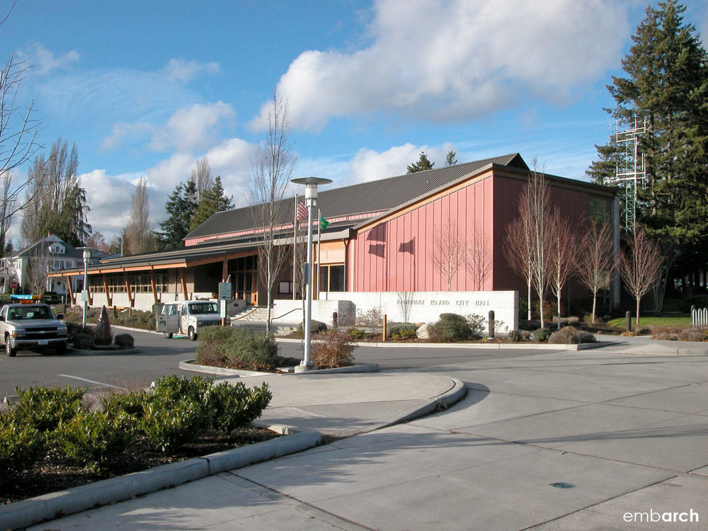 Bainbridge Island City Hall - view of exterior