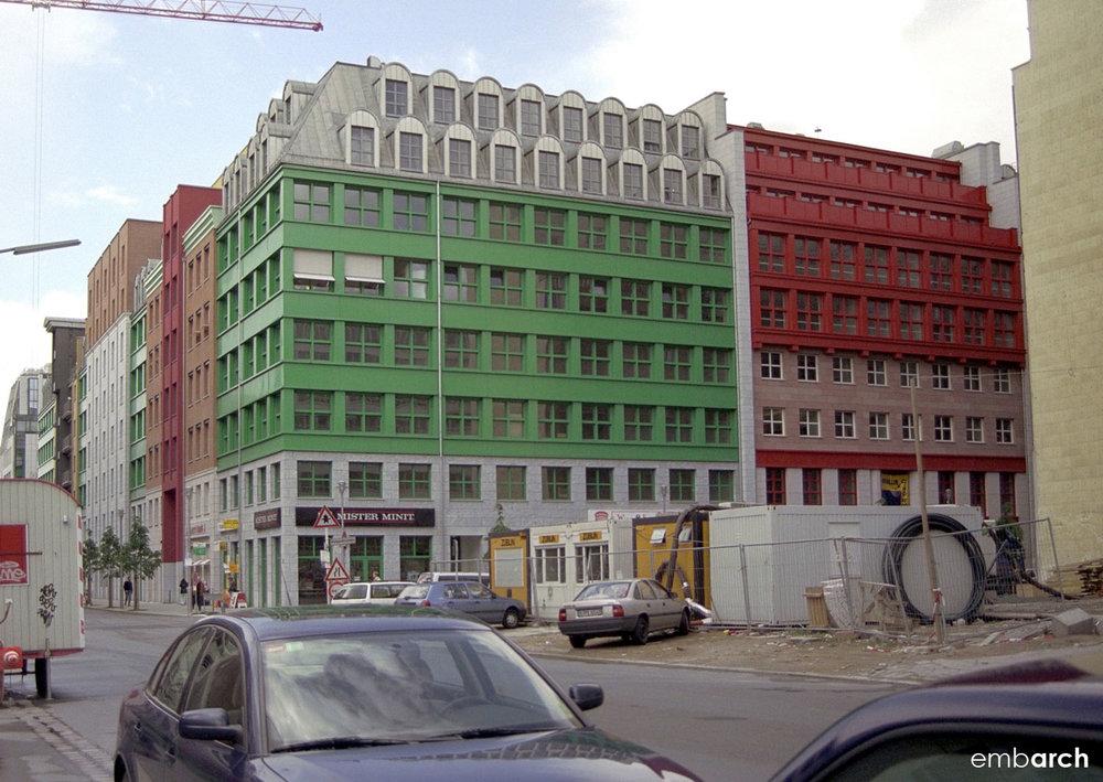Quartier Schützenstrasse - view of exterior