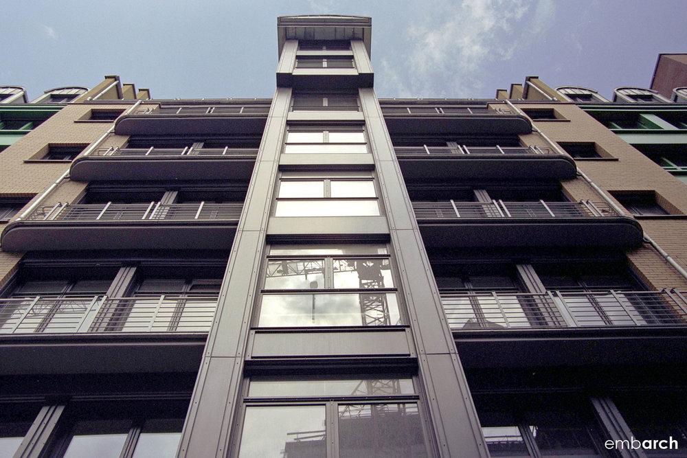 Quartier Schützenstrasse - exterior detail