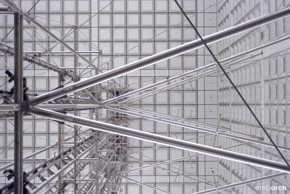 La Grande Arche de la Défense - exterior detail