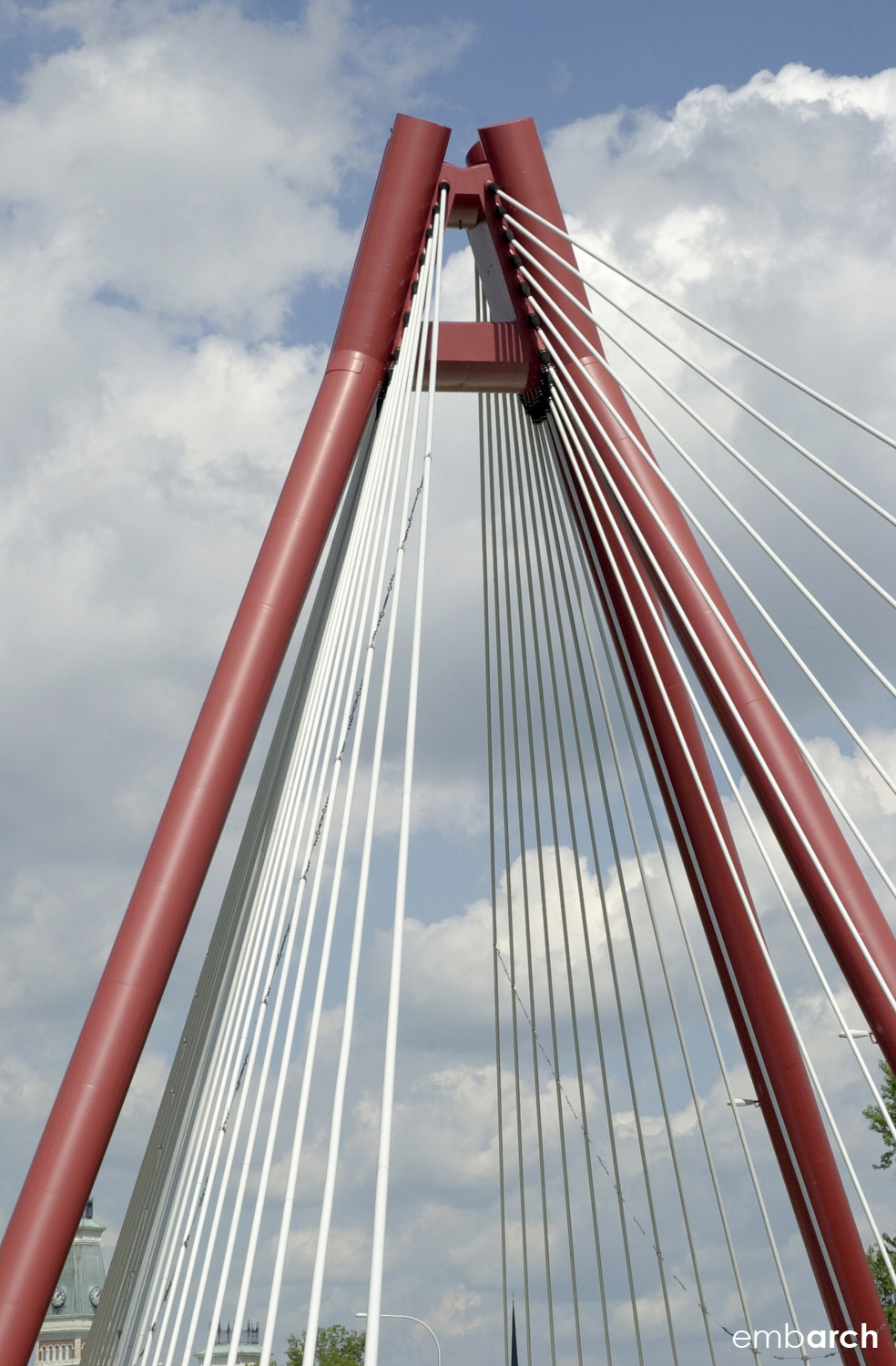 Robert N. Stewart Bridge - detail