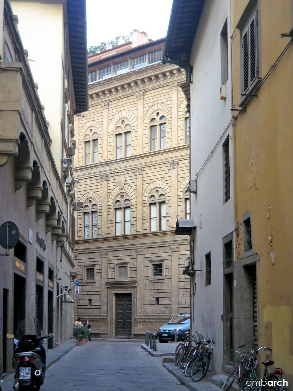 Palazzo Rucellai - view of exterior