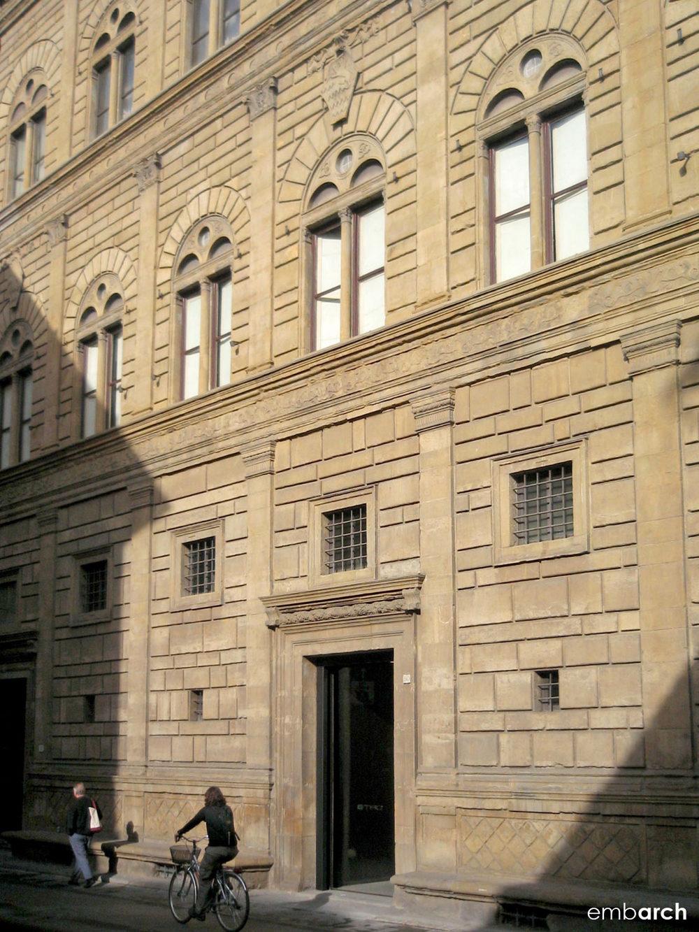 Palazzo Rucellai - exterior