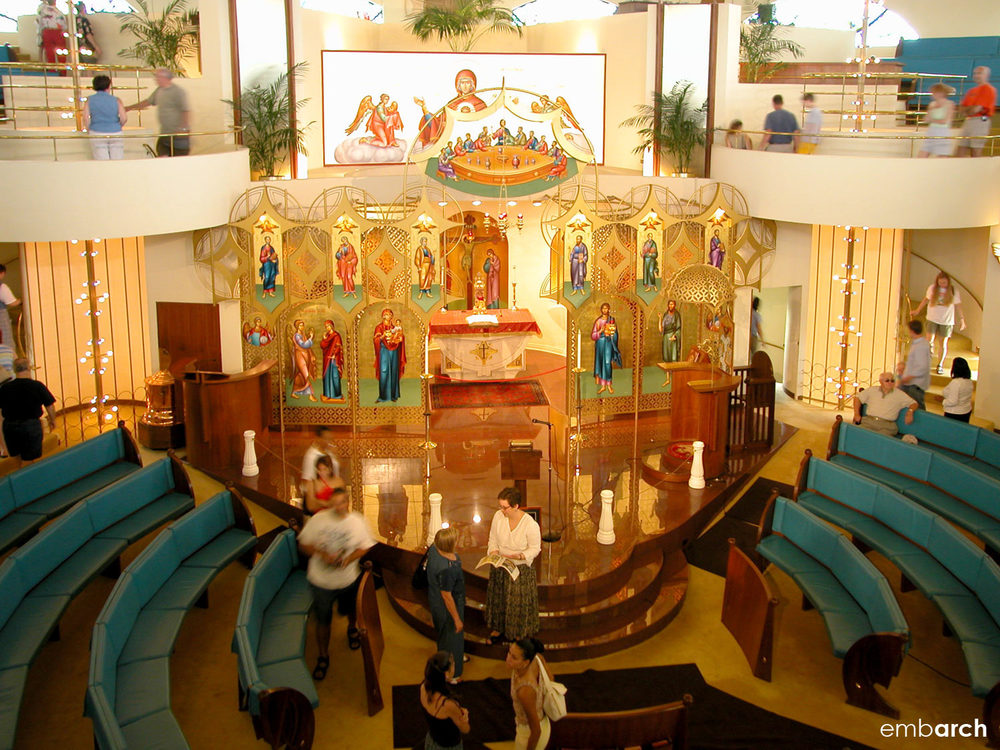 Annunciation Greek Orthodox Church - interior