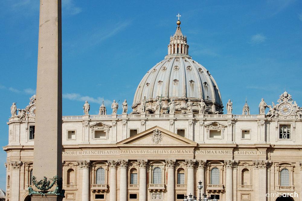 St. Peter's Basilica - exterior