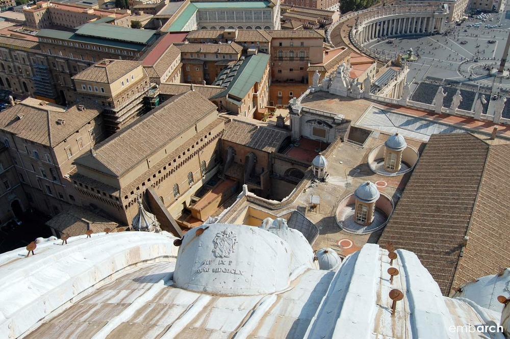 St. Peter's Basilica - basilica roofscape