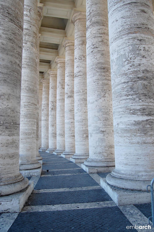 St. Peter's Basilica - exterior portico