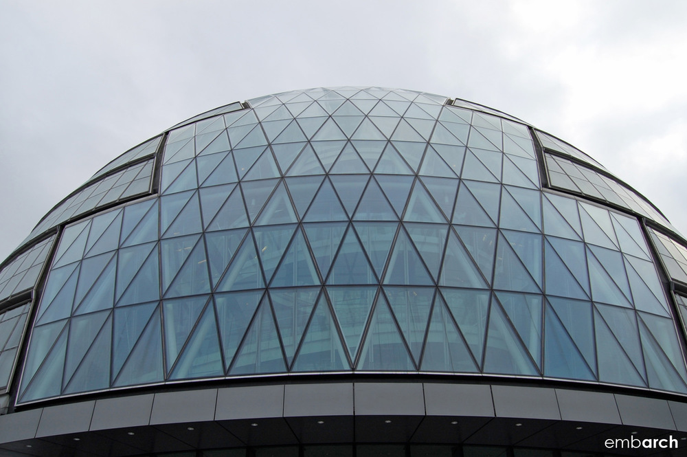 London City Hall - exterior detail