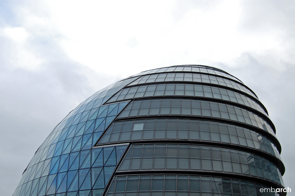 London City Hall - exterior