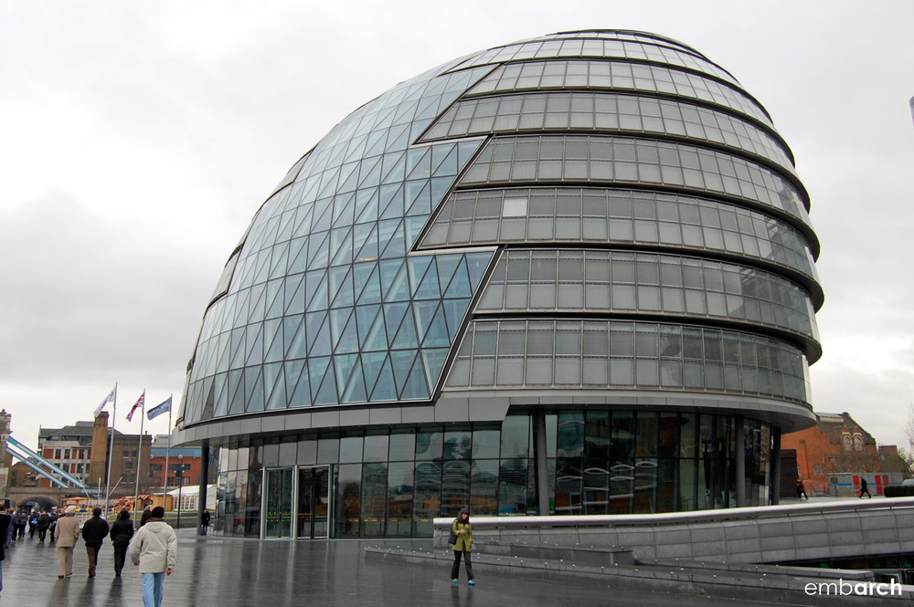 London City Hall - exterior view