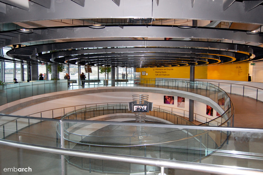 London City Hall - interior