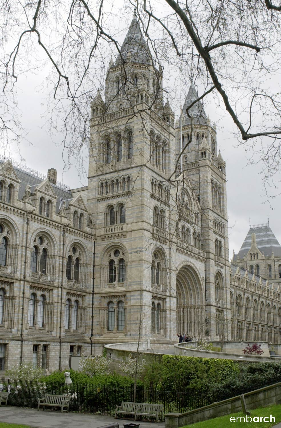 Natural History Museum, London - exterior view
