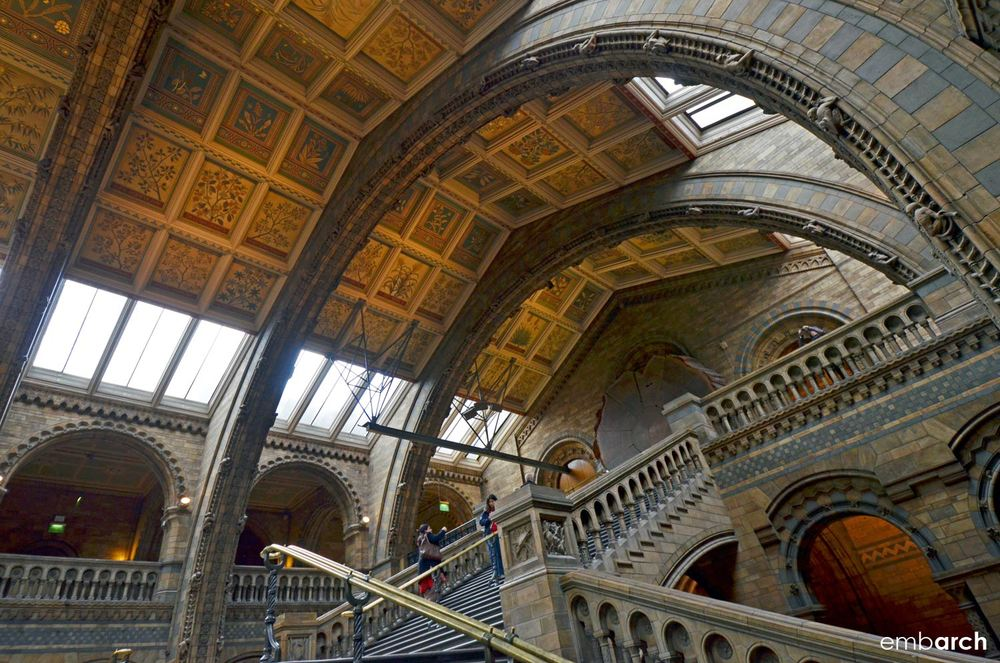 Natural History Museum, London - interior detail