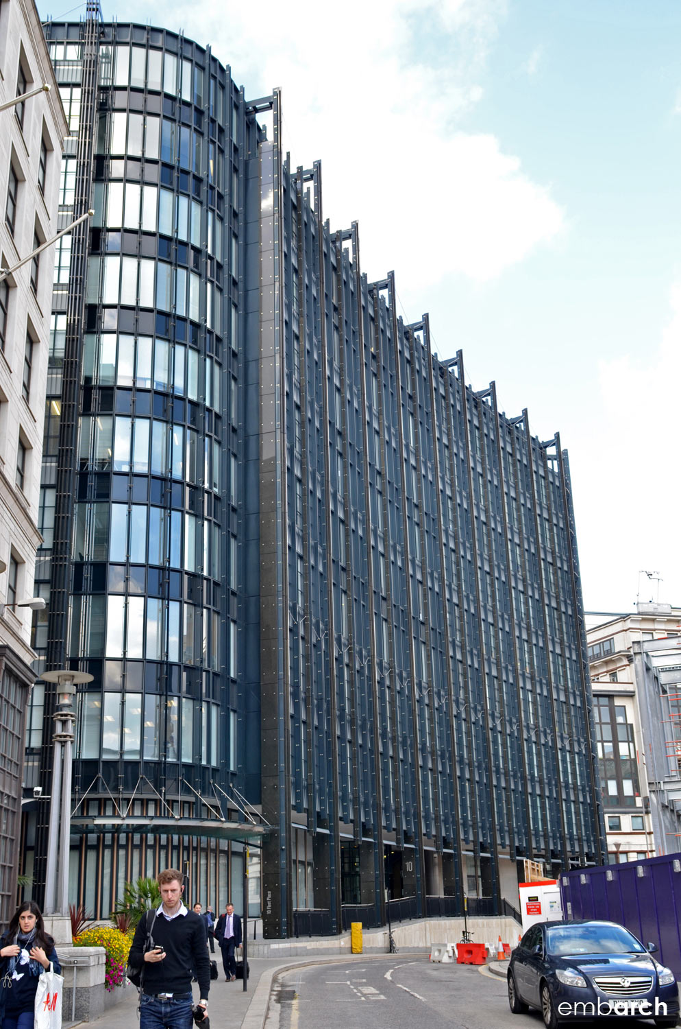 Ludgate 10 Fleet Place - view of exterior