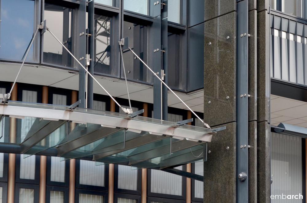 Ludgate 10 Fleet Place - exterior detail