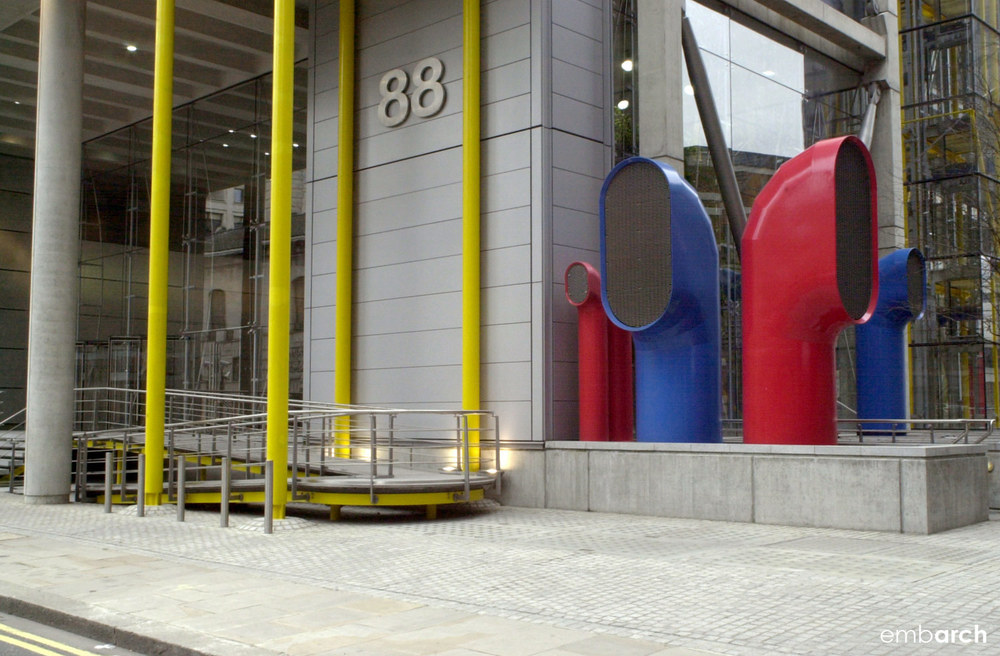 88 Wood Street - exterior
