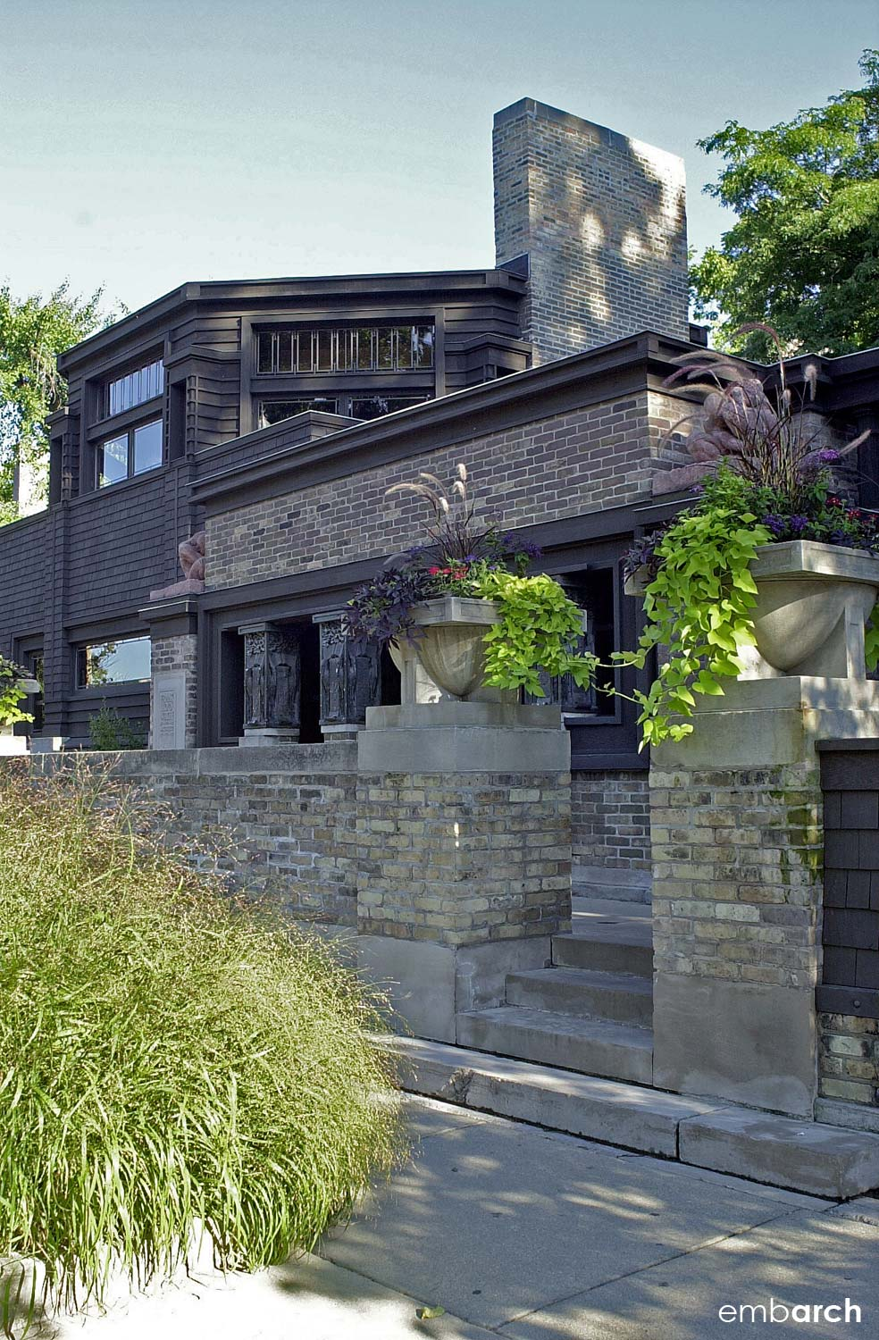 Frank Lloyd Wright Home and Studio - exterior